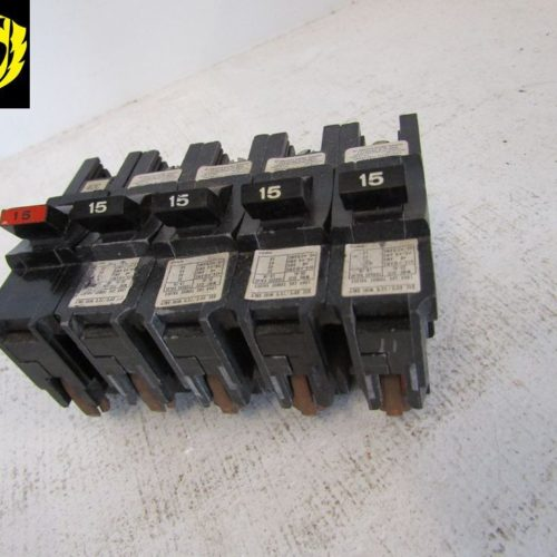 FPE Federal Pacific Circuit Breaker 1 Pole 15 Amp Thick NA115
