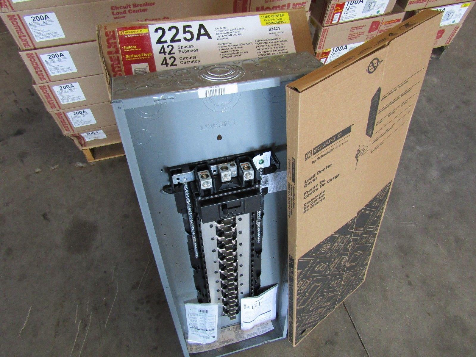 New Square D Hom42m225c 42 Ckt 225 Amp Main Breaker Panel