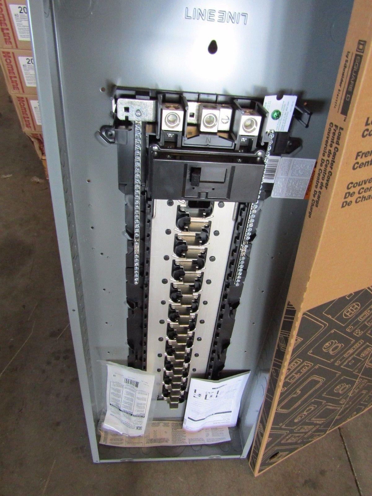 Square D 42 Circuit Panel Education Electrical Label 20 Amp Outlet On 15 Internachi Inspection Forum New Hom42m225c Ckt 225 Main Breaker Loadcenter