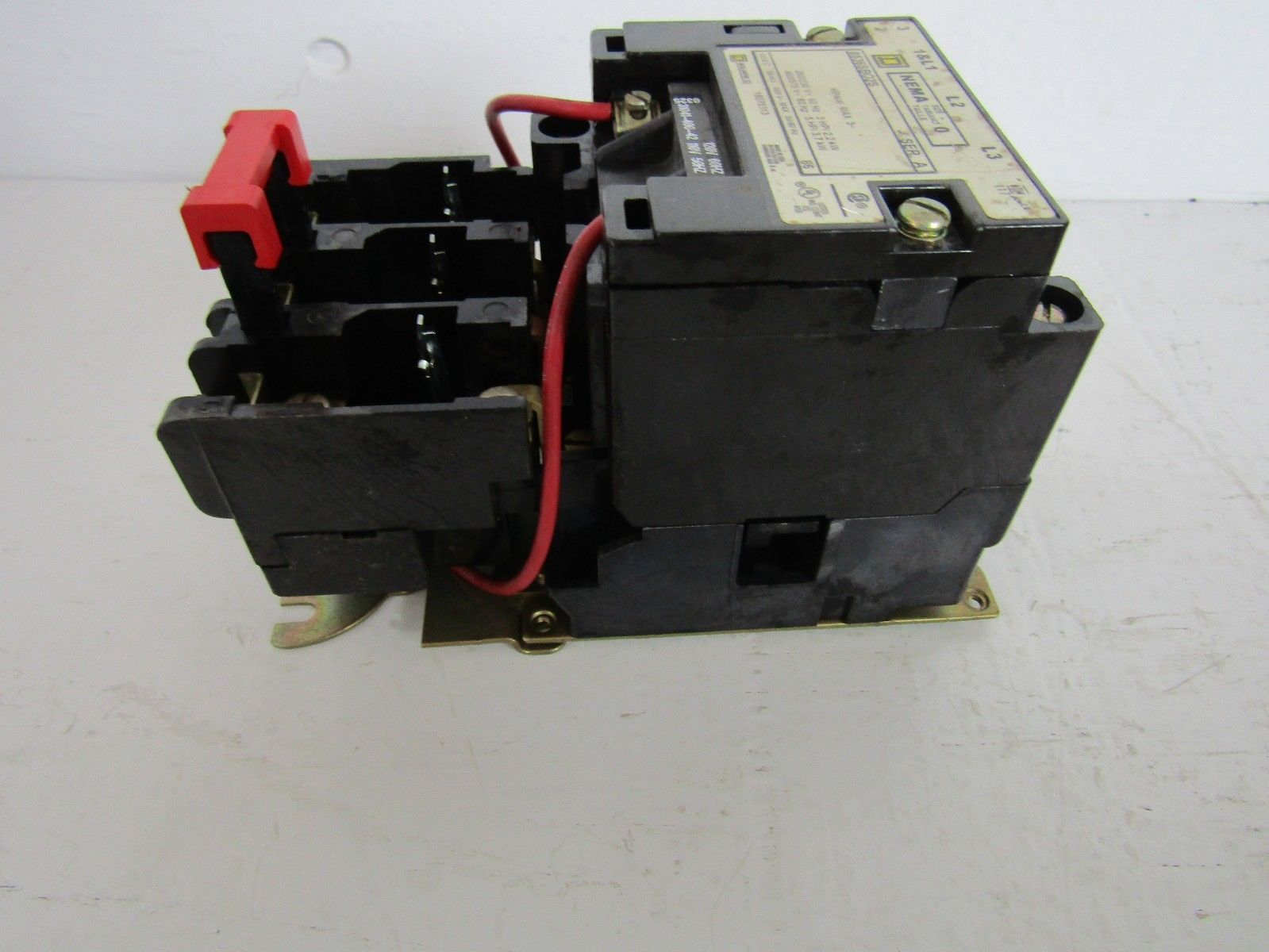 Square d 8536bo2s 3 pole 200 230 460 575 volt 60 hz 120 for 120 volt ac motor