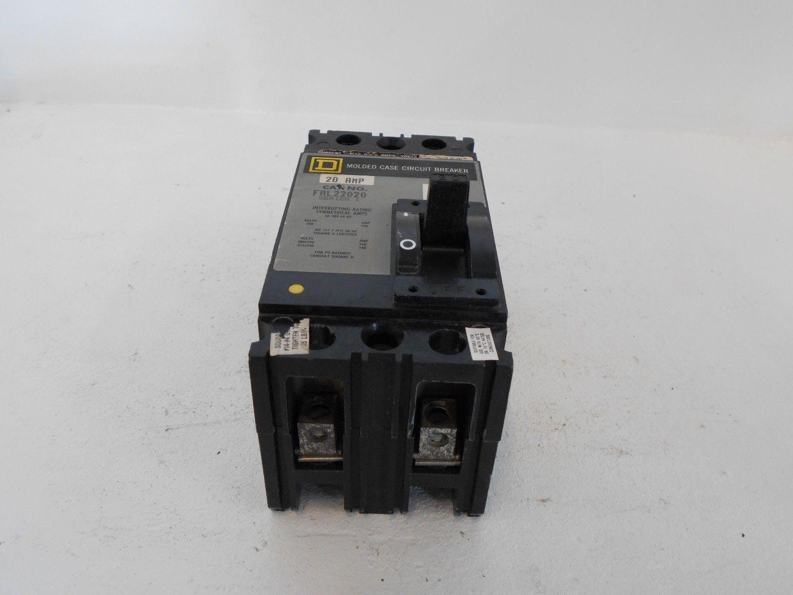 Square D Bolt On Circuit Breaker 20 Amp Qo 120 Nemetas 240 Volt Wiring Diagram Fal22020 2 Pole 10k Molded Case Rh Poweredelectricsupply Com