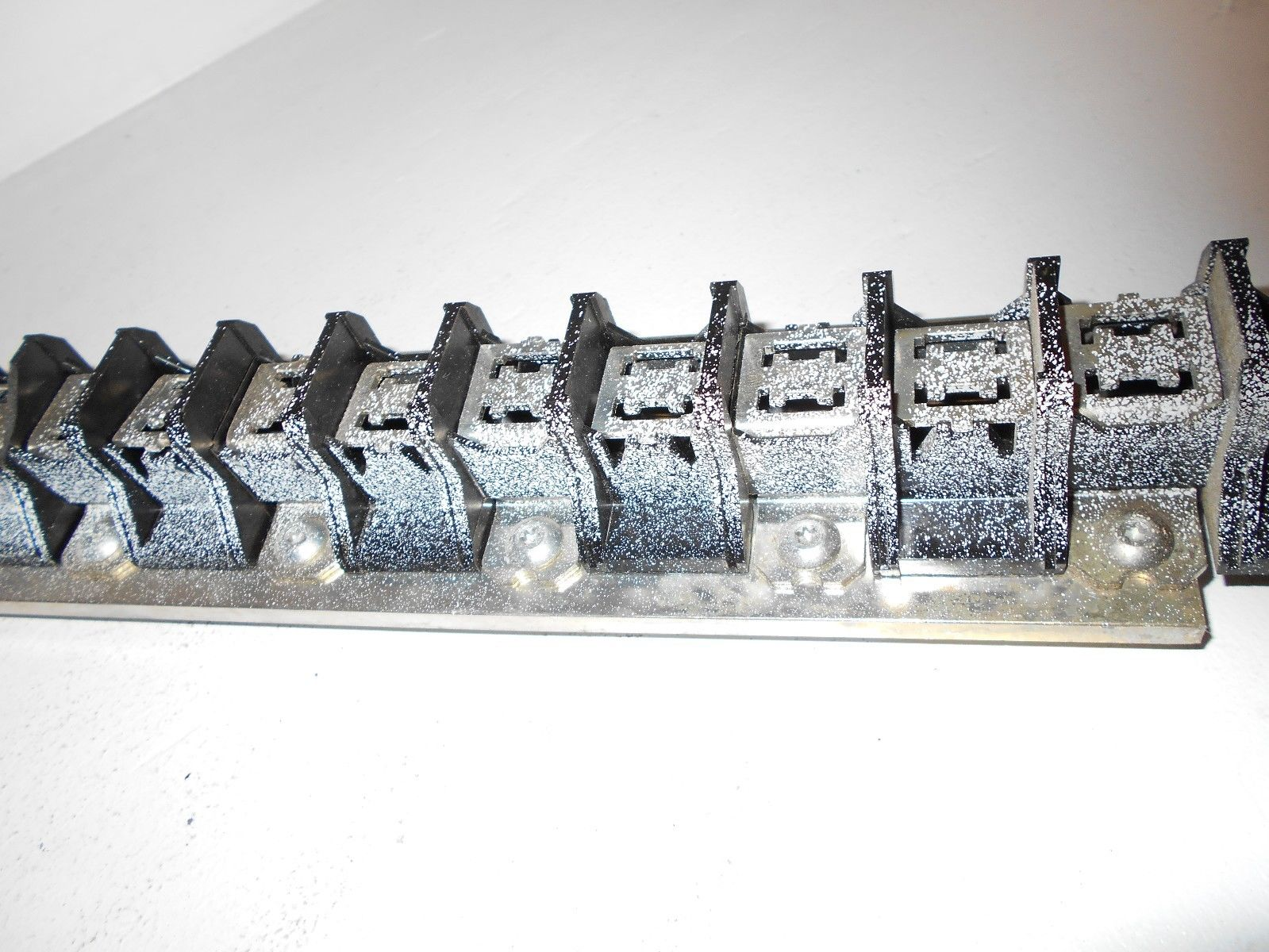 Federal Pacific Fpe American 30ckt Main Breaker Bus Bar 30 60 Clean Circuit Panel As Well House Wiring Circuits