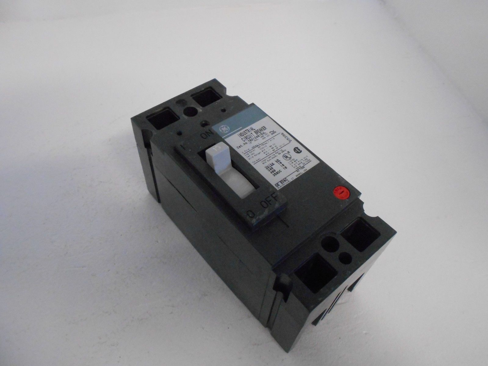 New Ge General Electric Breaker Part   Ted124015wl 2 Pole