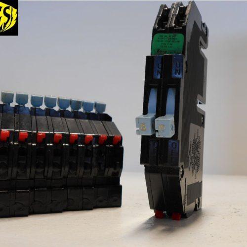 Zinsco Type Twin 15 Amp Circuit Breaker
