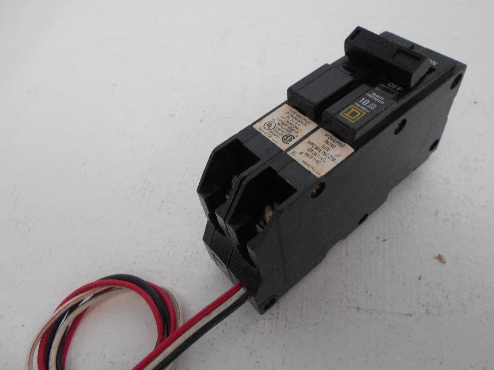 SQUARE D QOB250PL 2 POLE 50 AMP 240V QOB CIRCUIT BREAKER FOR ...