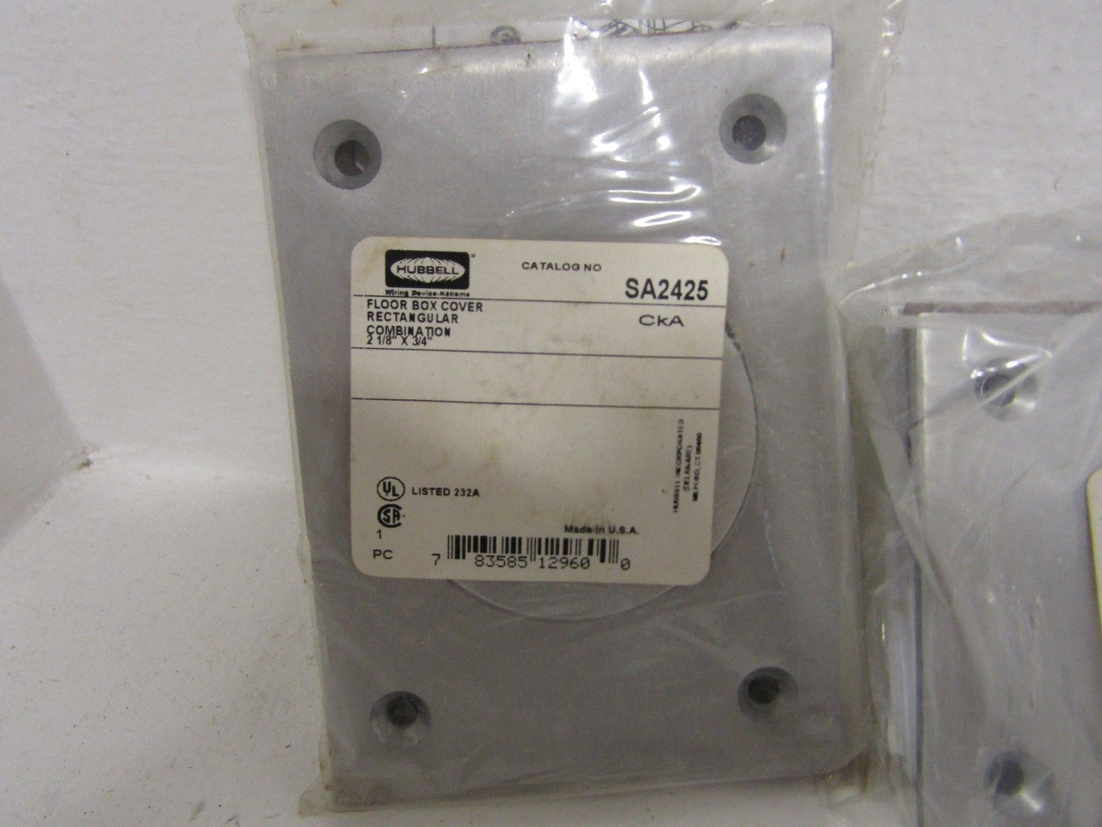 hubbell singles Find great deals for hubbell wiring device-kellems hbl4560 receptacle single 15 a l6-15 shop with confidence on ebay.