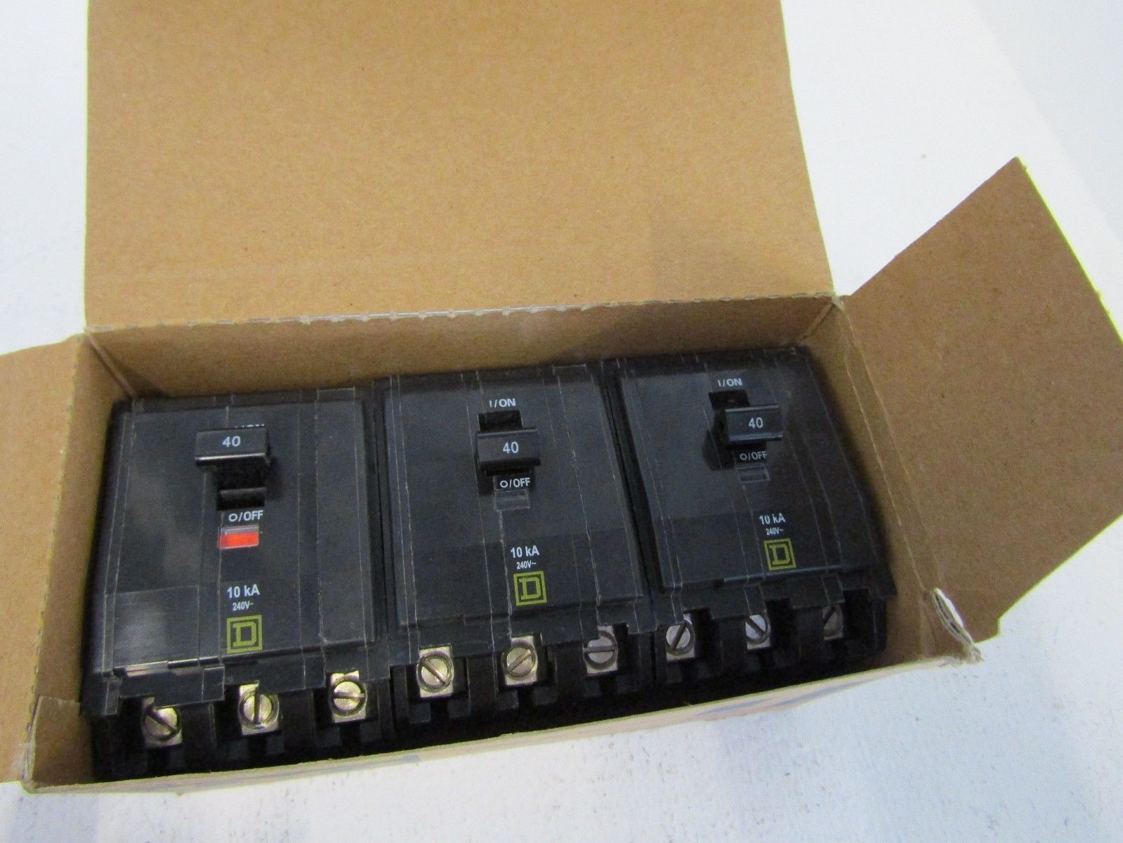 Square D Nq Circuit Breakers Wiring And Diagram Hub 15a 1p Qo Breaker Rona New Lot Of 3 Qo340 Pole 40 Amp Nf