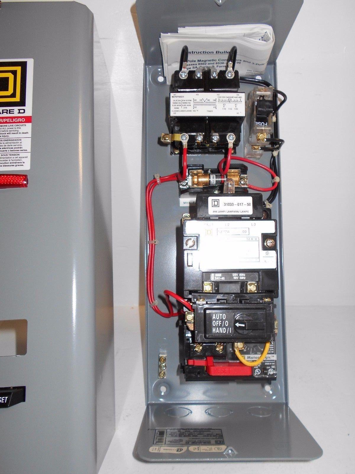 Exelent magnetic motor starter wiring vignette for When do you need a motor starter