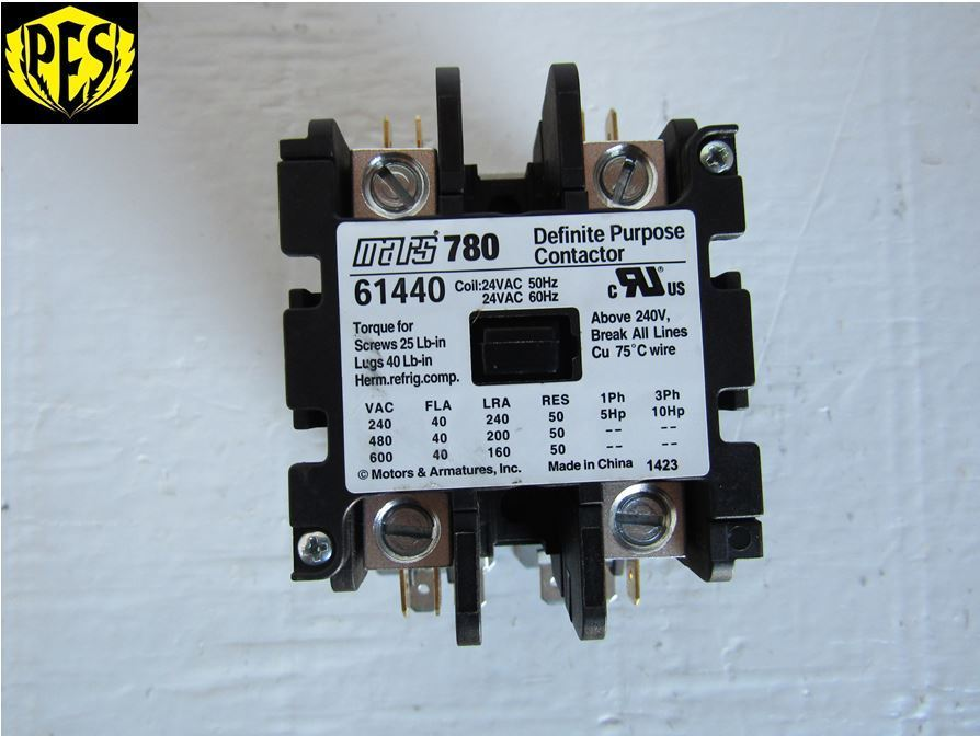 Exelent how to wire a 2 pole contactor frieze wiring ideas for new mars 780 61440 replaces furnas 42cf15aj definet purpose contactor 2 asfbconference2016 Images