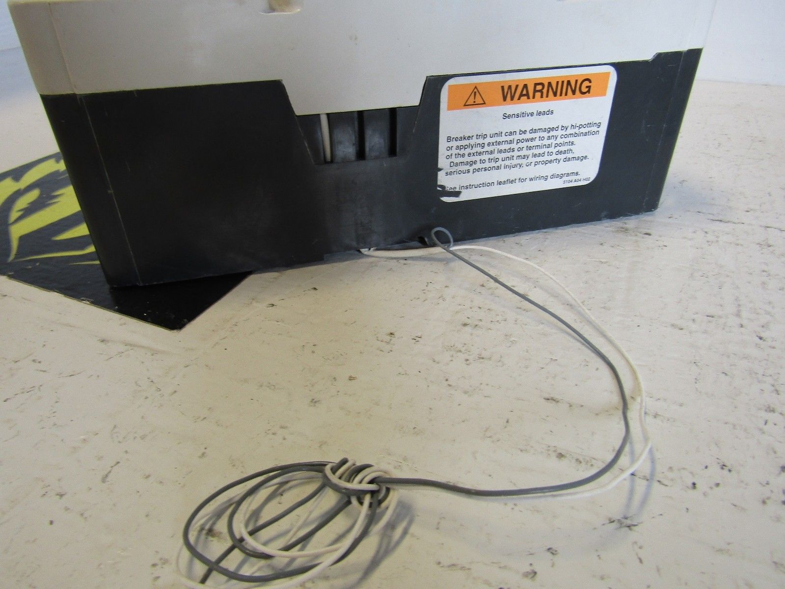 Eaton Cutler Hammer Kd3125t56w 3 Pole 3ph 125 Amp 600 Volt Circuit Breaker Wiring Diagram
