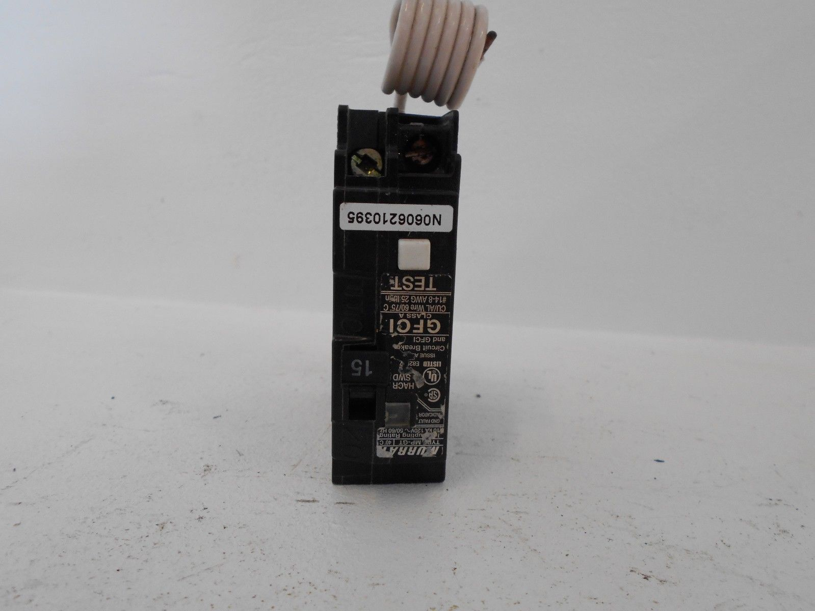 New murray mp115gf 1 pole 15 amp 120 volt type mp plug in breaker new murray mp115gf 1 pole sciox Image collections