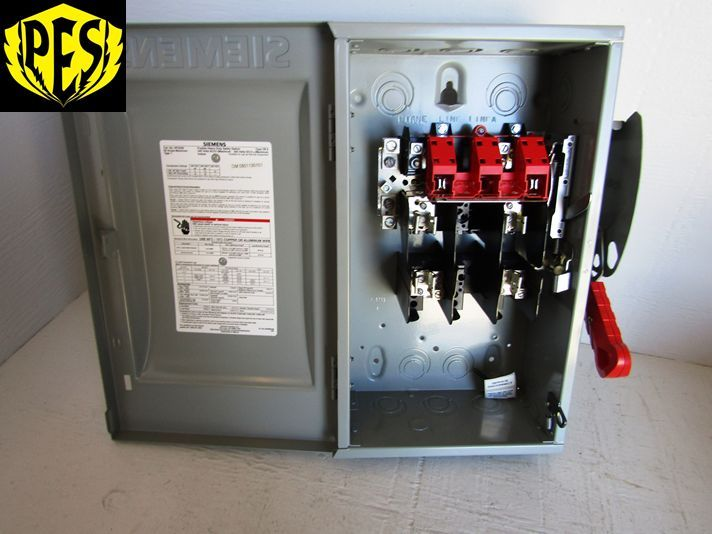 New siemens hf222n 2 pole 60 amp 240 volt 200ka 1 phase nema 1 new siemens hf222n 2 pole 60 amp 240 volt 200ka 1 phase nema 1 disconnect switch sciox Images